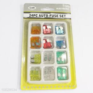24PC Colorful and Utility Auto-fuse Set