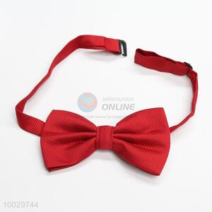 Good quality red bowknot bow tie