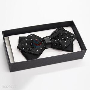 Creative design black bow tie