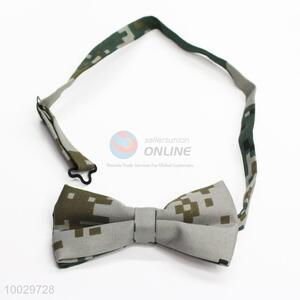 High quality camouflage pattern men bow tie