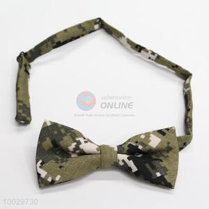 Hot sale camouflage pattern men bow tie