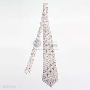 Plaid pattern neck tie for men