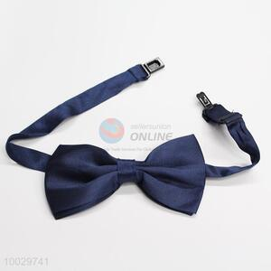 Cheap dark blue bow tie