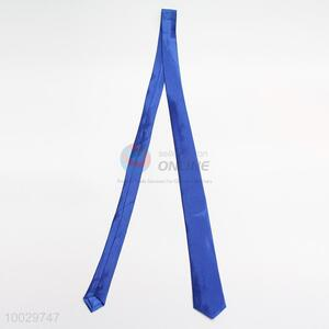 Blue neck tie for men