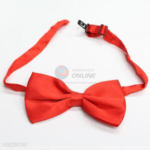 Low price red bow tie