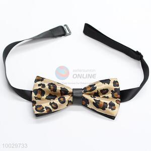 Wholesale leopard pattern bow tie for children