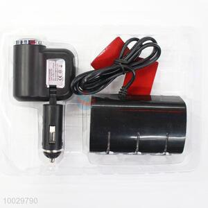 Wholesale 120v four sockets usb cigarette charger