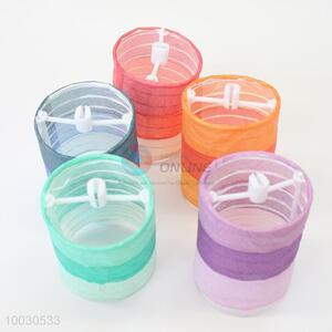 Gradient color paper lantern