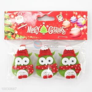 1 set cute christmas decoration wooden clips