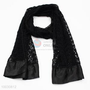 Wholesale Black Dacron With Satin Scarf With Drill