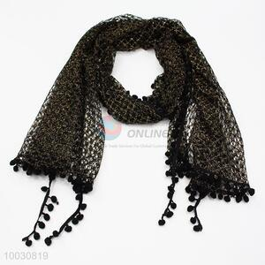 Wholesale Clipper-built Acrylic Fibers Scarf