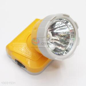 7.5*6*6.5cm Yellow Hot Sale LED Battery Head Lamp