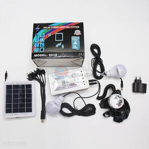 High Quality Solar Power Lighting System
