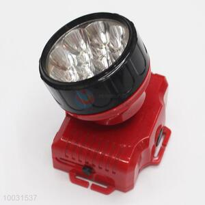 7.5*5.5*8cm Super Quality Red High Bright Long Life Rechageable LED Head Lamp