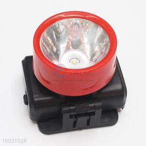 7.5*6*6cm Red&Black Wholesale LED Battery Head Lamp