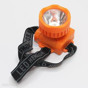 6*5.5*7cm Orange Wholesale LED Battery Head Lamp