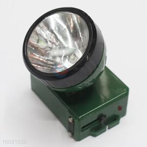 7*5.5*7.5cm Super Quality Dark Green High Bright Long Life Rechageable LED Head Lamp