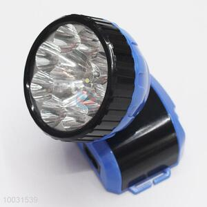 8*6*8cm Super Quality Blue&Black High Bright Long Life Rechageable LED Head Lamp