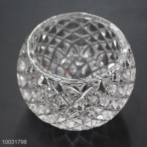 Popular Round Shape Crystal Candle Holder