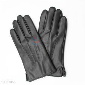 Wholesale Soft Black Warm Winter Gloves for Men