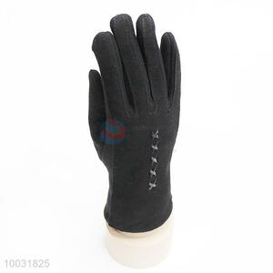 Wholesale Fashion Black Warm Gloves for Winter
