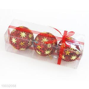 Red Christmas Tree Decoration Promotional Christmas Ball