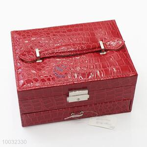 Multi-function jewelry case/pvc jewelry case with drawers