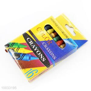 16 Colors Non-toxic Wax Crayon for Kids