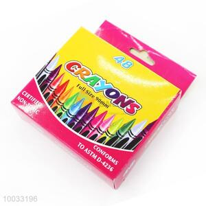 Wholesale Colors Non-toxic Wax Crayon for Kids