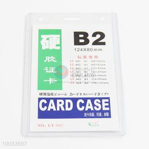 Cheap price B2 pvc card case id card holder
