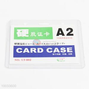Promotional products A2 pvc card case id card holder