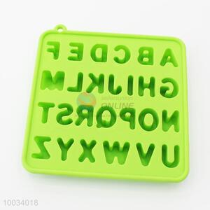 Square Letter Silicone Biscuit Mould