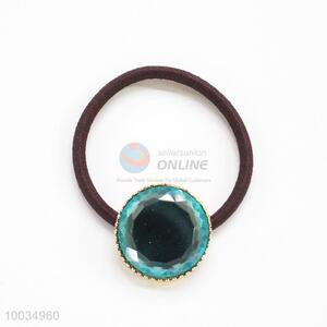 Blue Beads Hair Accessories Elastic Hair Band Hair Ring