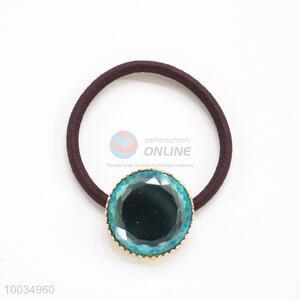 Blue Beads Hair Accessories Elastic Hair Band Hair Ring