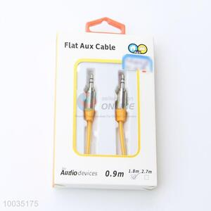 High Quality Utility 1.8M Yellow Audio Cable