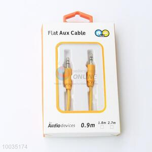 Hot Sale Utility 0.9M Yellow Audio Cable