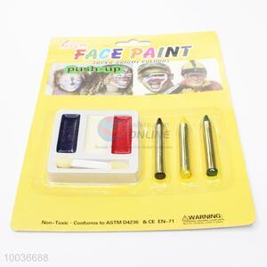 3 Colors Face Paints Set