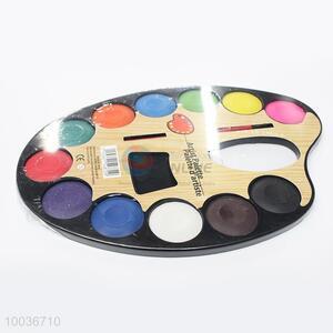 Popular 12 Colors Pressed Watercolor Set