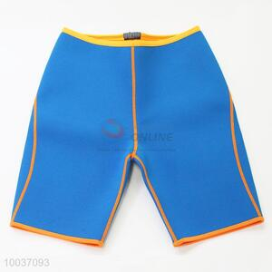 One size nylon blue color women sport shorts