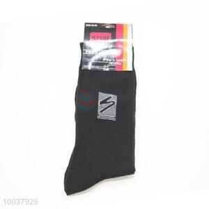 Top Quality Black Dacron Sock For Men