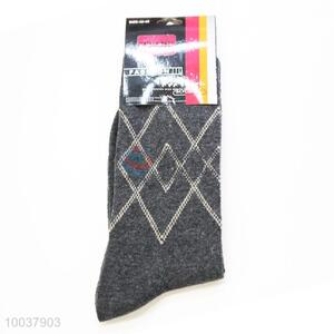 New Arrivals Gray Dacron Sock For Men