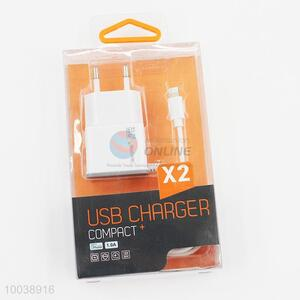 1A usb charger usb cable(1m) for iphone 6