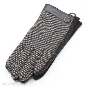 Promotional Mirco Velvet Warm Touch Screen Gloves&Mittens for Men