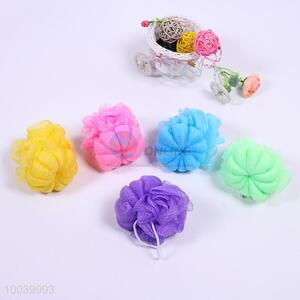 Cute House Hold Hot Sale Colourful Bath Ball Shaped in Flower