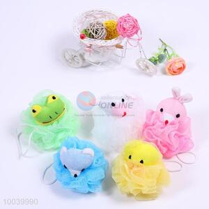 House Hold Hot Sale Colourful Bath Ball with Plush Animals
