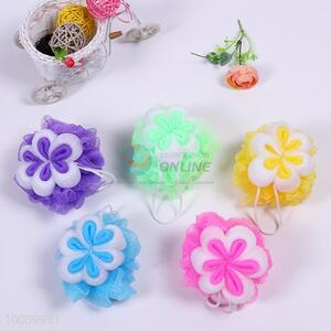 House Hold Hot Sale Colourful Bath Ball with Flowers Pattern