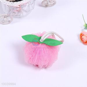 Kawaii House Hold Hot Sale Colourful Bath Ball Shaped in Apple