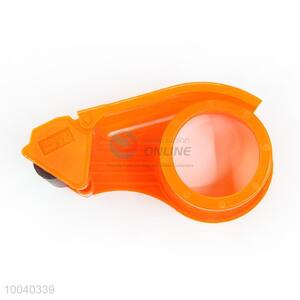 Orange Plastic Tape Dispenser