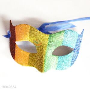 Newest multicolor striped halloween party mask