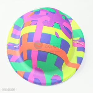 Unique designs mini printing pvc hat for party decoration